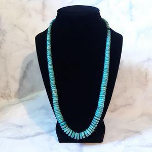 Jewelry - Vintage genuine turquoise necklace